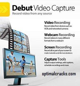 Debut Video Capture 7.37 Crack + Serial Key Free Download